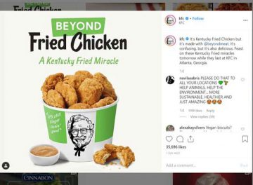 KFC has gone vegan and its called a Kentucky Fried Miracle!